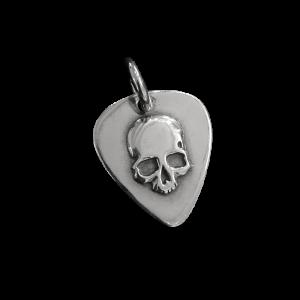 Guitar Pic Skull